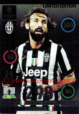 2014-15 - Adrenalyn XL champions League N° LE-AP - Andrea PIRLO (Juventus FC) (Limited Edition)