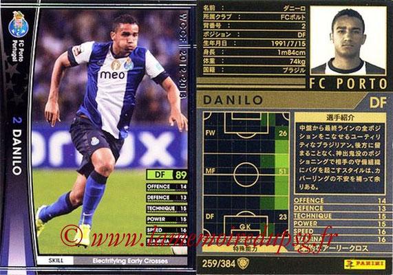 2012-13 - WCCF - N° 259 - DANILO (FC Porto)