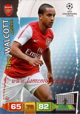 2011-12 - Panini Champions League Cards - N° 021 - Theo WALCOTT (Arsenal FC)