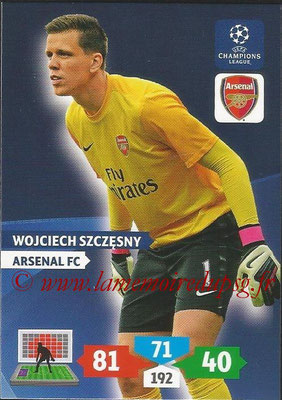 2013-14 - Adrenalyn XL champions League N° 046 - Wojciech SZCZESNY (Arsenal FC)