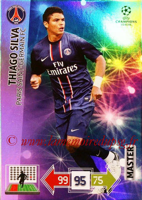 2012-13 - Adrenalyn XL champions League N° 341 - Thiago SILVA (Paris Saint-Germain) (Master)