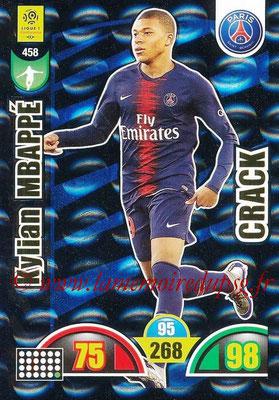 2018-19 - Panini Adrenalyn XL Ligue 1 - N° 458 - Kylian MBAPPE (Paris Saint-Germain) (Crack)