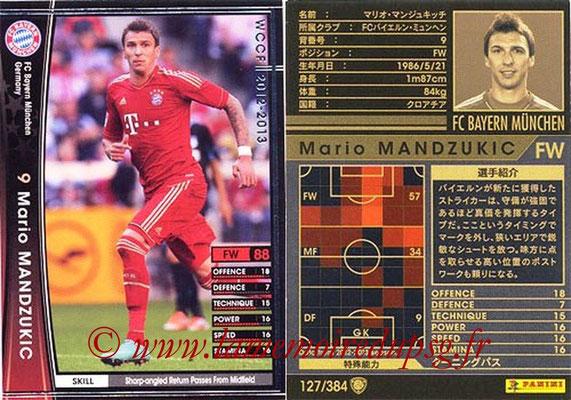 2012-13 - WCCF - N° 127 - Mario MANDZUKIC (FC Bayern Munich)
