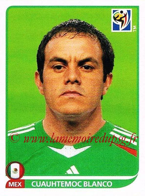 2010 - Panini FIFA World Cup South Africa Stickers - N° 063 - Cuauhtemoc BANCO (Méxique)