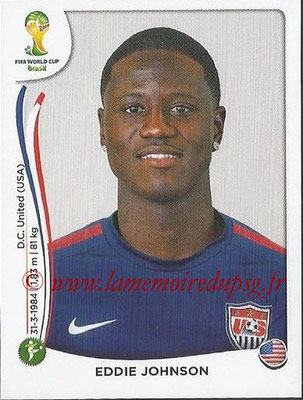 2014 - Panini FIFA World Cup Brazil Stickers - N° 562 - Eddie JOHNSON (Etats-Unis)