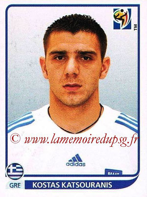 2010 - Panini FIFA World Cup South Africa Stickers - N° 175 - Kostas KATSOURANIS (Grèce)