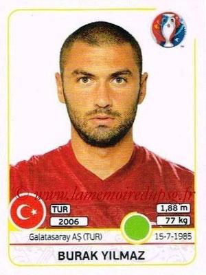 Panini Euro 2016 Stickers - N° 424 - Burak YILMAZ (Turquie)