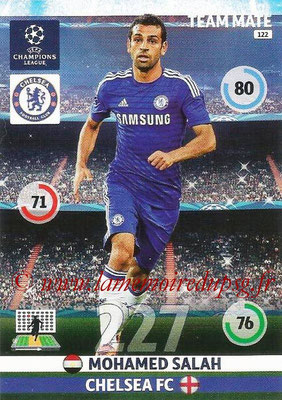 2014-15 - Adrenalyn XL champions League N° 122 - Mohamed SALAH (Chelsea FC)