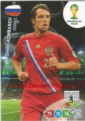 2014 - Panini FIFA World Cup Brazil Adrenalyn XL - N° 282 - Dmitri KOMBAROV (Russie)