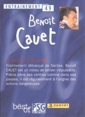 N° 049 - Benoit CAUET (Verso)