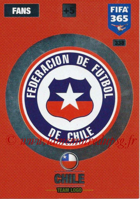 2016-17 - Panini Adrenalyn XL FIFA 365 - N° 338 - Logo Chili (Club Badge)