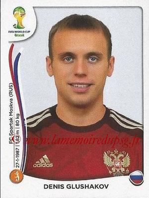 2014 - Panini FIFA World Cup Brazil Stickers - N° 615 - Denis GLUSHAKOV (Russie)