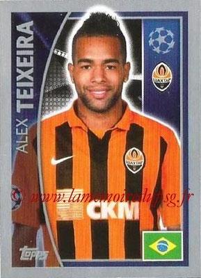 2015-16 - Topps UEFA Champions League Stickers - N° 057 - Alex TEIXEIRA (FC Shakhtar Donetsk)