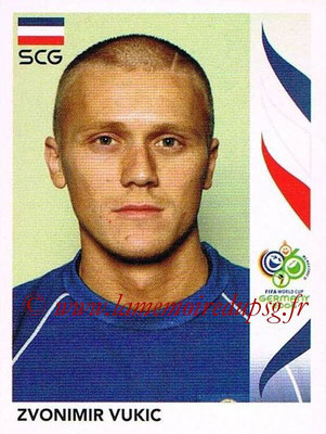 2006 - Panini FIFA World Cup Germany Stickers - N° 221 - Zvonimir VUKIC (Serbie)