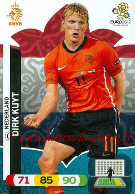 Panini Euro 2012 Cards Adrenalyn XL - N° 150 - Dirk KUYT (Pays-Bas)