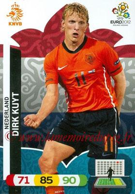 Panini Euro 2012 Cards Adrenalyn XL - N° 150 - Dirk KUYT (Pays-Bas)