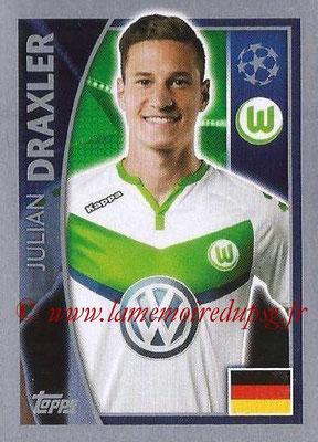 2015-16 - Topps UEFA Champions League Stickers - N° 142 - Julian DRAXLER (VFL Wolfsburg)