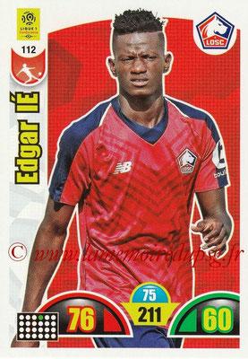 2018-19 - Panini Adrenalyn XL Ligue 1 - N° 112 - Edgar IE (Lille)