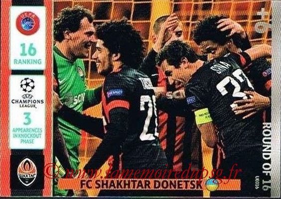 2014-15 - Adrenalyn XL champions League Update edition N° UE016 - FC Shakhtar Donetsk (Round of 16)