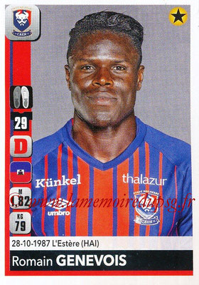 2018-19 - Panini Ligue 1 Stickers - N° 081 - Romain GENEVOIS (Caen)