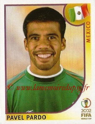 2002 - Panini FIFA World Cup Stickers - N° 499 - Pavel PARDO (Mexique)