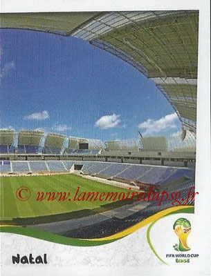 2014 - Panini FIFA World Cup Brazil Stickers - N° 021 - Estadio das dunas - Natal (2)