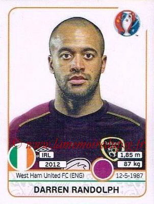 Panini Euro 2016 Stickers - N° 518 - Darren RANDOLPH (République d'Irlande)