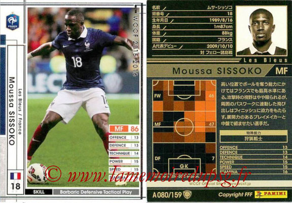 2015-16 - Panini WCCF - N° A080 - Moussa SISSOKO (France)