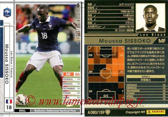2015-16 - Panini WCCF - N° A080 - Moussa SISSOKO (France)