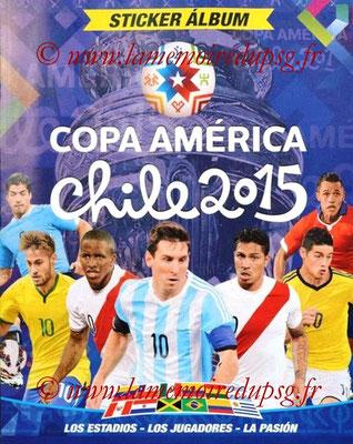 Navarette Copa America Chile 2015 Stickers - Couverture