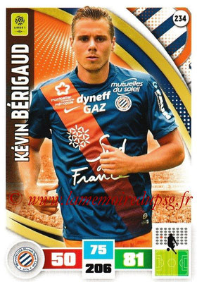 2016-17 - Panini Adrenalyn XL Ligue 1 - N° 234 - Kévin BERIGAUD (Montpellier)
