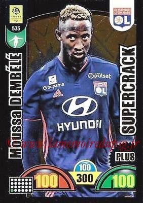 2018-19 - Panini Adrenalyn XL Ligue 1 - N° 535 - Moussa DEMBELE (Lyon) (Supercrack Plus)