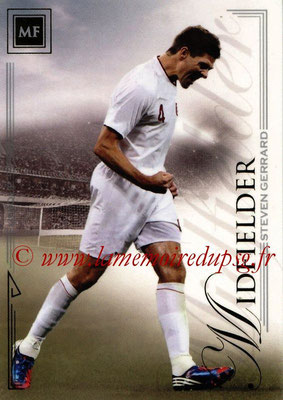 2014 - Futera World Football Unique - N° 040 - Steven GERRARD (Midfielder)