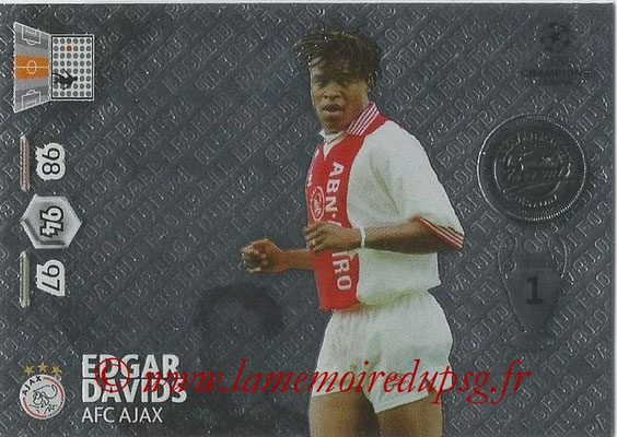 2013-14 - Adrenalyn XL champions League N° 361 - Edgar DAVIDS (AFC Ajax) (Legend)