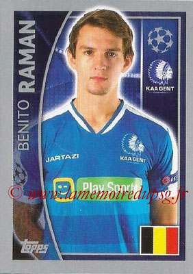 2015-16 - Topps UEFA Champions League Stickers - N° 547 - Benito RAMAN (KAA Gent)