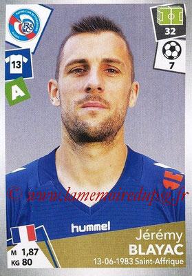 2017-18 - Panini Ligue 1 Stickers - N° 458 - Jérémy BLAYAC (Strasbourg)