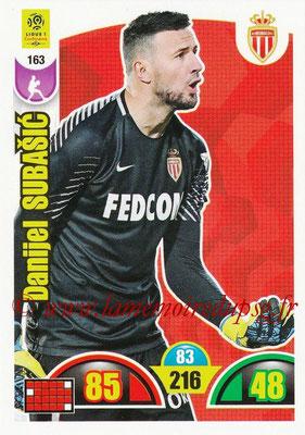 2018-19 - Panini Adrenalyn XL Ligue 1 - N° 163 - Danijel SUBASIC (Monaco)