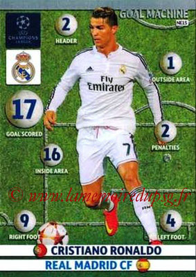 2014-15 - Adrenalyn XL champions League N° NE15 - Cristiano RONALDO (Real Madrid)