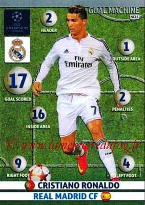 2014-15 - Adrenalyn XL champions League N° NE15 - Cristiano RONALDO (Real Madrid)