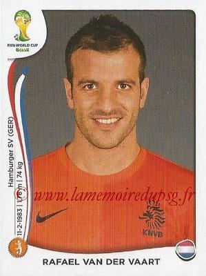 2014 - Panini FIFA World Cup Brazil Stickers - N° 138 - Rafael VAN DER VAART (Pays-Bas)