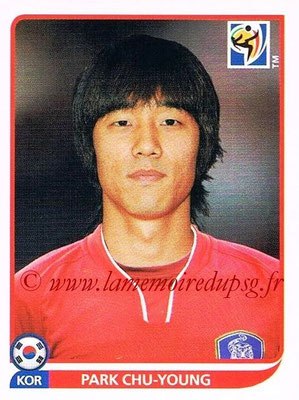 2010 - Panini FIFA World Cup South Africa Stickers - N° 161 - Park CHU-YOUNG (Corée du Sud)
