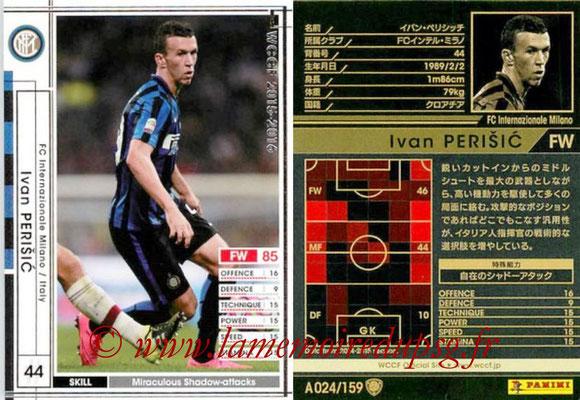 2015-16 - Panini WCCF - N° A024 - Ivan PERISIC (FC Inter Milan)
