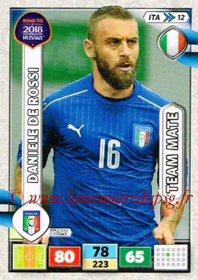 2018 - Panini Road to FIFA World Cup Russia Adrenalyn XL - N° ITA12 - Daniele DE ROSSI (Italie)