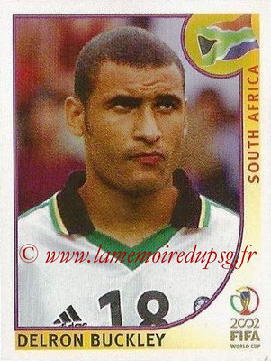 2002 - Panini FIFA World Cup Stickers - N° 160 - Delron BUCKLEY (Afrique du Sud)