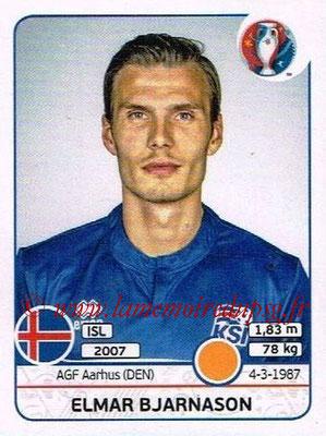 Panini Euro 2016 Stickers - N° 621 - Elmar BJARNASON (Islande)