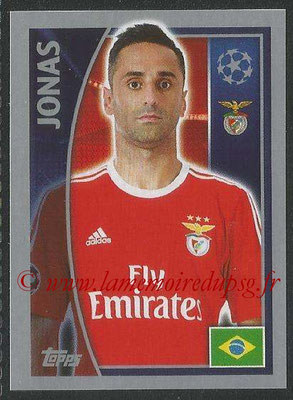 2015-16 - Topps UEFA Champions League Stickers - N° 171 - JONAS (SL Benfica)