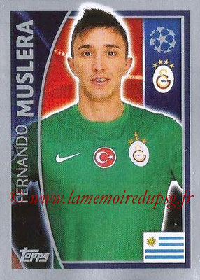 2015-16 - Topps UEFA Champions League Stickers - N° 192 - Fernando MUSLERA (Galatasaray AS)