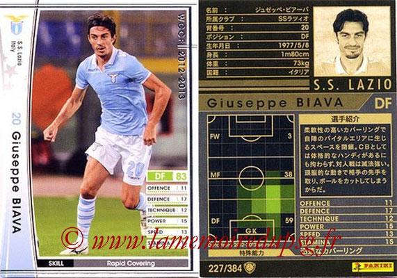 2012-13 - WCCF - N° 227 - Giuseppe BIAVA (SS Lazio)