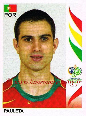 2006 - Panini FIFA World Cup Germany Stickers - N° 300 - PAULETA (Portugal)