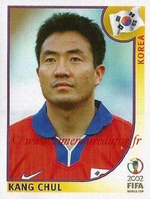 2002 - Panini FIFA World Cup Stickers - N° 246 - Kang CHUL (Corée)